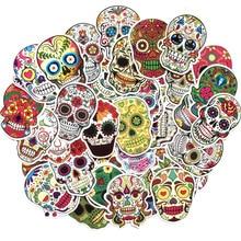 60PCS/lot Human Skeleton Stickers for Suitcase Stationery Skate Cartoon PatchMotif DIY scrapbooking Decorative sticker scrapbook