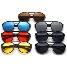 Retro Steampunk Sunglasses Round Men Women Fashion Style Cir