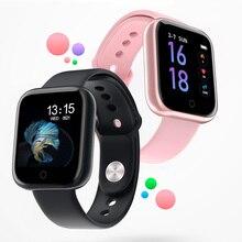 T80 kobiety mężczyźni wodoodporny inteligentny zegarek smartwatch bluetooth dla Apple IPhone Xiaomi tętno tracker do monitorowania aktywności fizycznej