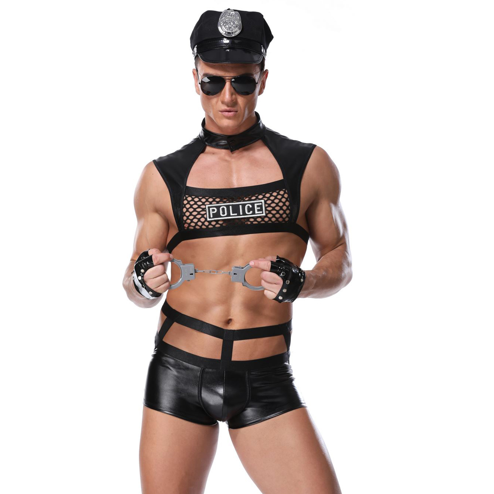 Men <font><b>Sexy</b></font> <font><b>Costumes</b></font> Hot Erotic <font><b>Sexy</b></font> Police Officer <font><b>sexy</b></font> <font><b>Costume</b></font> <font><b>Fancy</b></font> Cops <font><b>Dress</b></font> Men Halloween <font><b>Costume</b></font> Police Uniforms image