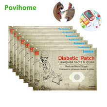6/30/42/48/90pcs Chinese Herbal Diabetes Patch Stabilizes Blood Sugar Reduce Balance Glucose Content Medical Plaster Health Care