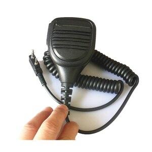 Image 3 - 2 pin Speaker Mic Microphone KMC 38 For Baofeng UV3R+ Plus UV5RB UV5RC UV82 UV 8D UV B5 UV B6 GT 3 A52 Two Way Radio