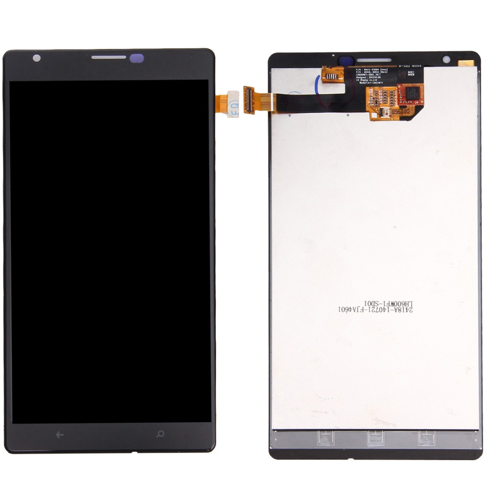 Top quality LCD Screen and Digitizer Full Assembly for Nokia Lumia 1520