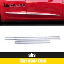 Противотуманная полоса для tesla model 3 три отделки двери автомобиля