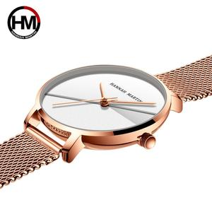 Image 4 - Женские часы топового бренда, роскошные японские кварцевые наручные часы, индивидуальная из нержавеющей стали с Соединенным циферблатом