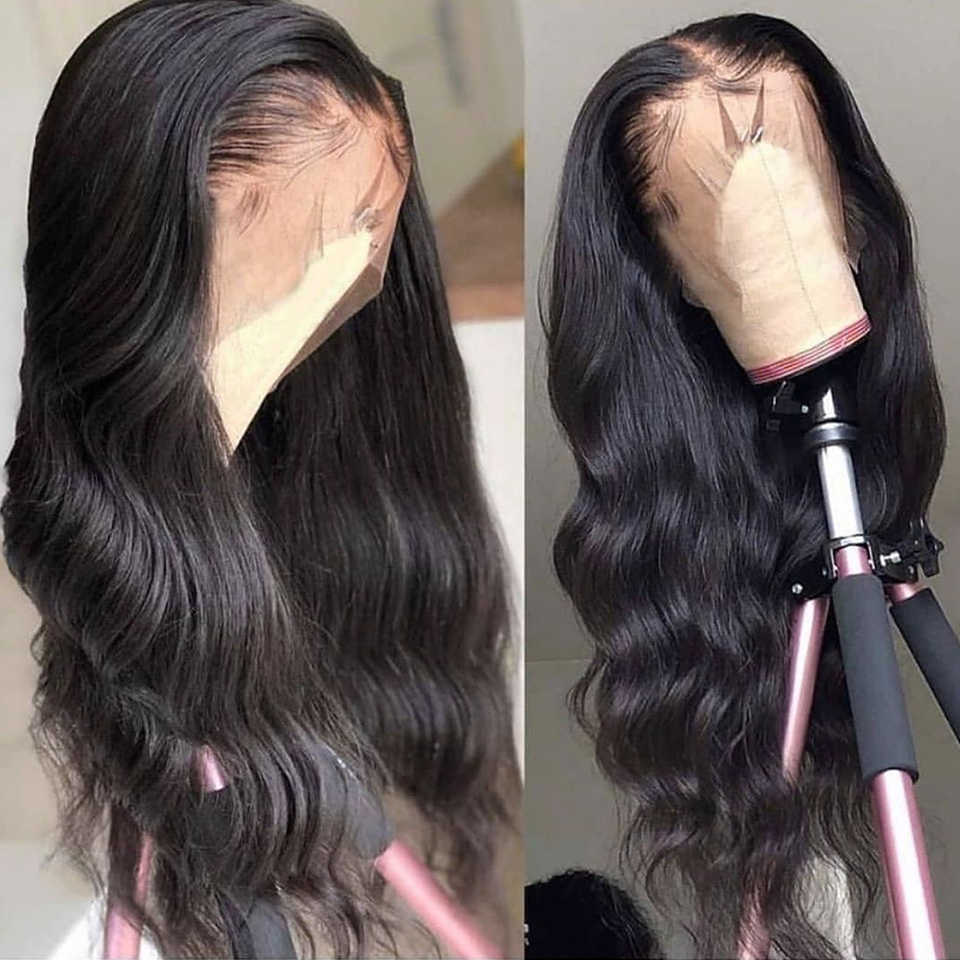 Brazlian Body Wave Wig 13x6 Lace Front Human Hair Wigs 250 Density Human Hair Wigs For Women Pre-Plucked With Baby Hair
