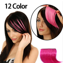 Horns Bang-Fringe Lengthen-Bangs Pretty Wig Hair-Extension-Piece Clip-On 12-Colors Mini