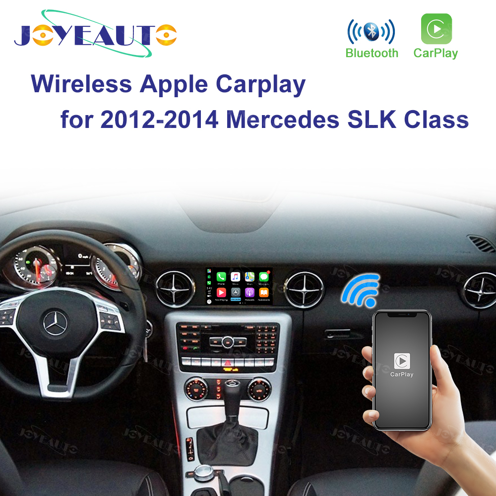 Popular  Joyeauto Wireless Wifi Apple Carplay for Mercedes SLK class 2011-2015 NTG4.5/NTG4.7 Apple Car play