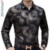 2021 New Social Long Sleeve Maple Leaf Designer Shirts Men Slim Fit Vintage Fashions Men's Shirt Man Dress Jersey Clothing 36565 1