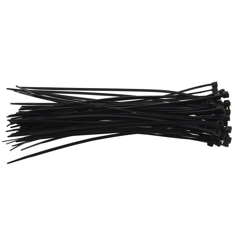 Nylon Cable Ties 100mm x 2.5mm Yellow Zip ties Zip tie Wraps Pack of 100