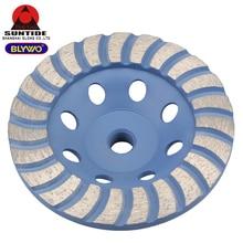 115mm Thread M14 Diamond Grinding Cup Wheel Disc Bowl Shape Grinding Cup for Concrete Granite Masonry Stone Ceramics Tools