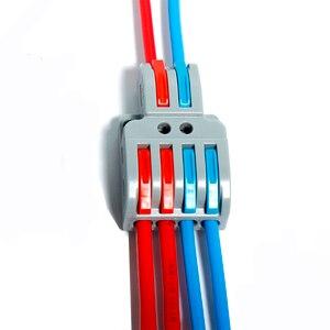 Mini filo di collegamento veloce splicing connettore blocco universale di Ingresso Faston compatto cablaggio conduttore terminale