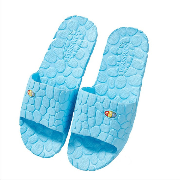 Unisex Bathroom Shoes Women Slippers Indoor Home Shoes Summer EVA Sandals House Slippers Man Shoes Bath Shower Non-slip Slippers