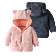 NewBorn Baby Boys Girls Jacket Autumn Winter Infant Cartoon