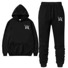 Mens Suit Autumn And Winter Fashion Free Match hooded Sweater Pants Casual Wear Jogging
