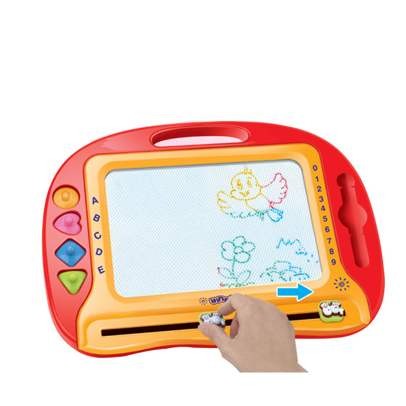 Factory Price Large Size Color Magnetic Drawing Board Children Painted Doodle Board Infant Early Education Toy