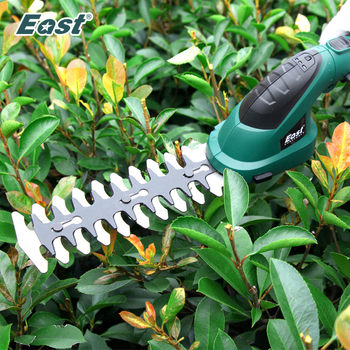 East 7.2V Li-ion Grass Trimmer Electric Hedge 2 in 1 Lawn Mower Garden Tools Pruning Shears Scissors ET1511C - discount item  39% OFF Garden Tools