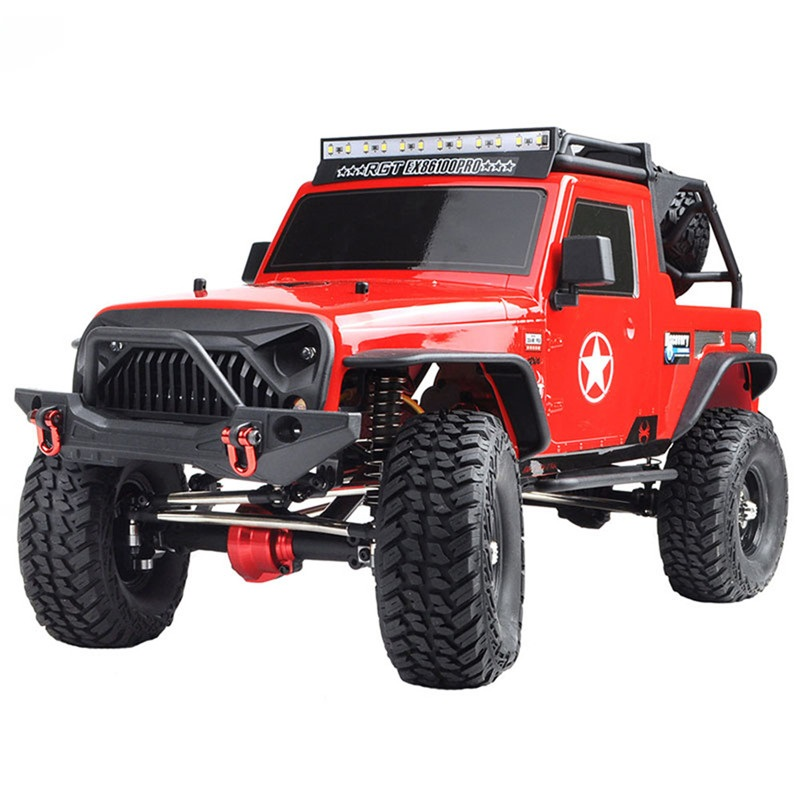 RGT EX86100 PRO Kit 1/10 2.4G 4WD RC Car Electric Climbing Rock Crawler Without Electronic Parts RC Car Outdoor Toys Vehicle Toy