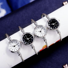 Luxury Womens Bracelets Watches Fashion Silver Bangle Watch for Ladies Dress Quartz Clock Female Simple Wrist reloj mujer