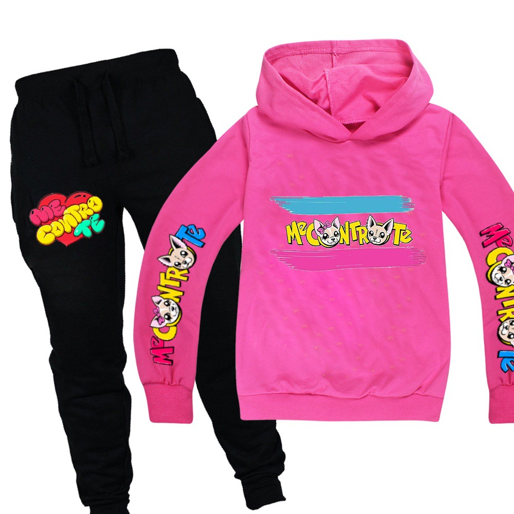 Toddler Girl Winter Clothes Long Sleeve Sweater Me Contro Te Cartoon Print for Girls Boys Full Kids Hoodies Clothing Sweatshirt 3