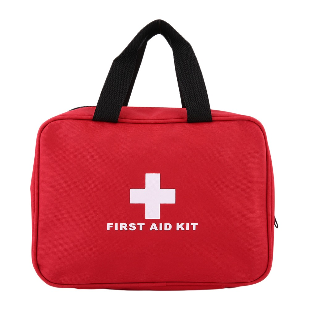 2018 New First Aid Bag Outdoor Sports Camping Home Medical Emergency Survival First Aid Kit Bag Rescue Medical ToolsBest Quality
