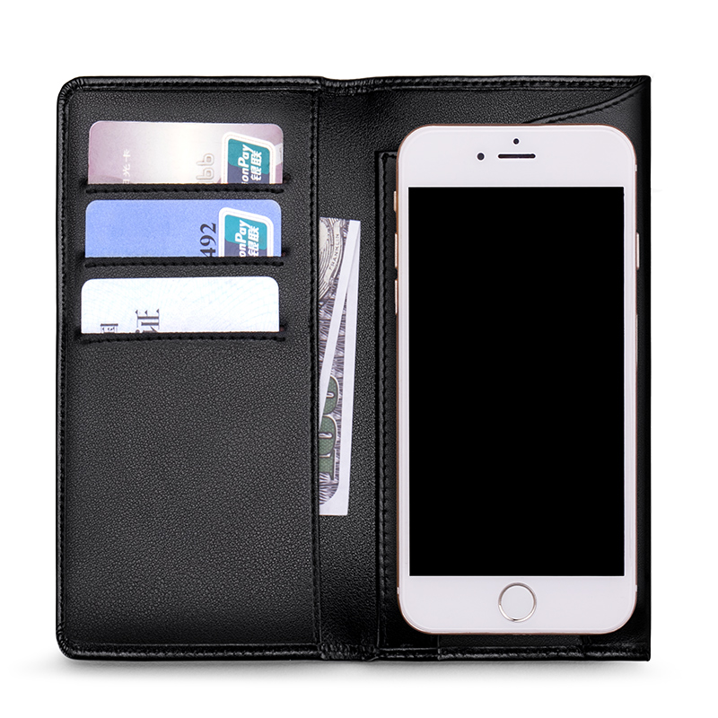 WilliamPolo Luxury Brand full grain Leather Wallets men Long Phone Bag Ultra-thin Coin Purses Tassel Design Wallets Money Bag Men Men's Bags Men's Wallets cb5feb1b7314637725a2e7: Black L|Black S|Blue L|Blue S