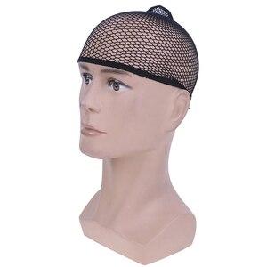 1 комплект, черный цвет, шиньон, парик, кепка, растягивающиеся, эластичные волосы, снуд, парик, кепка, крутая сетка, косплей