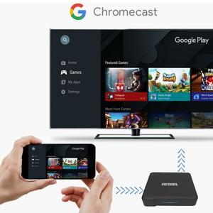 Image 5 - 2020 Mecool KM1 Deluxe ATV certificato Google Android 10 TV Box Amlogic S905X3 Androidtv Prime Video 4K Dual Wifi 2T2R Set Top Box