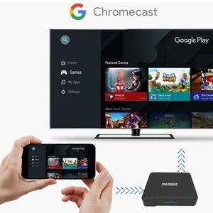 Image 5 - 2020 mecool KM1デラックスatv google認定アンドロイド10テレビボックスamlogic S905X3 androidtvプライムビデオ4 18kデュアル無線lan 2T2Rセットトップボックス
