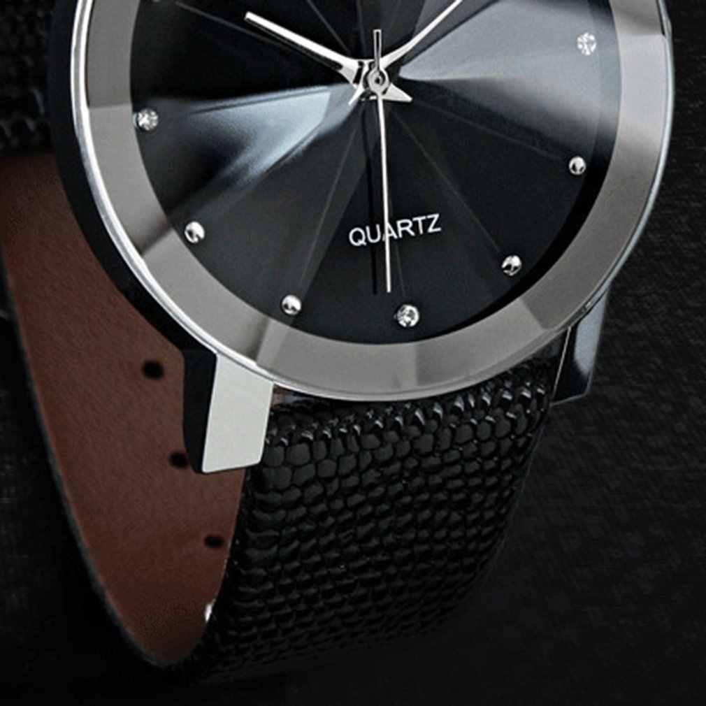 Diamant Männer Quarzuhr Armband Charme Schmuck Casual paar uhr für männer frauen Top Marke Luxus Uhr
