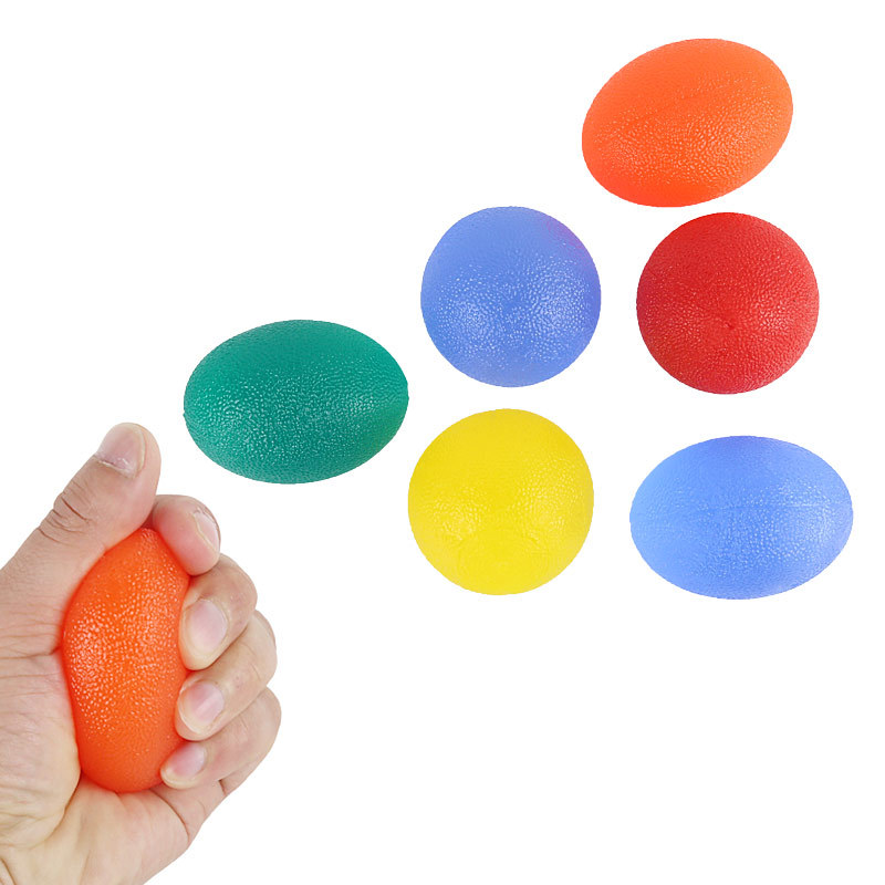 Cross Border Hot Selling Adult Hand Muscle Aging Exercise Finger Flexible Palm Spring Grip The Ball