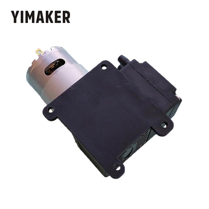 YIMAKER1PC Micro Air Pump 300kpa DC9V 12V 24V 15W 18L/min Diaphragm Pump Metering Pumps
