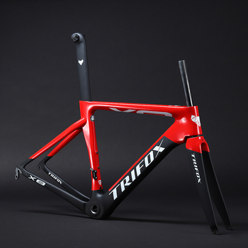 carbon road bike frame road cycling bicycle  frameset 2020 TRICOX brand frame clearance frame fork seatpost carbon frame