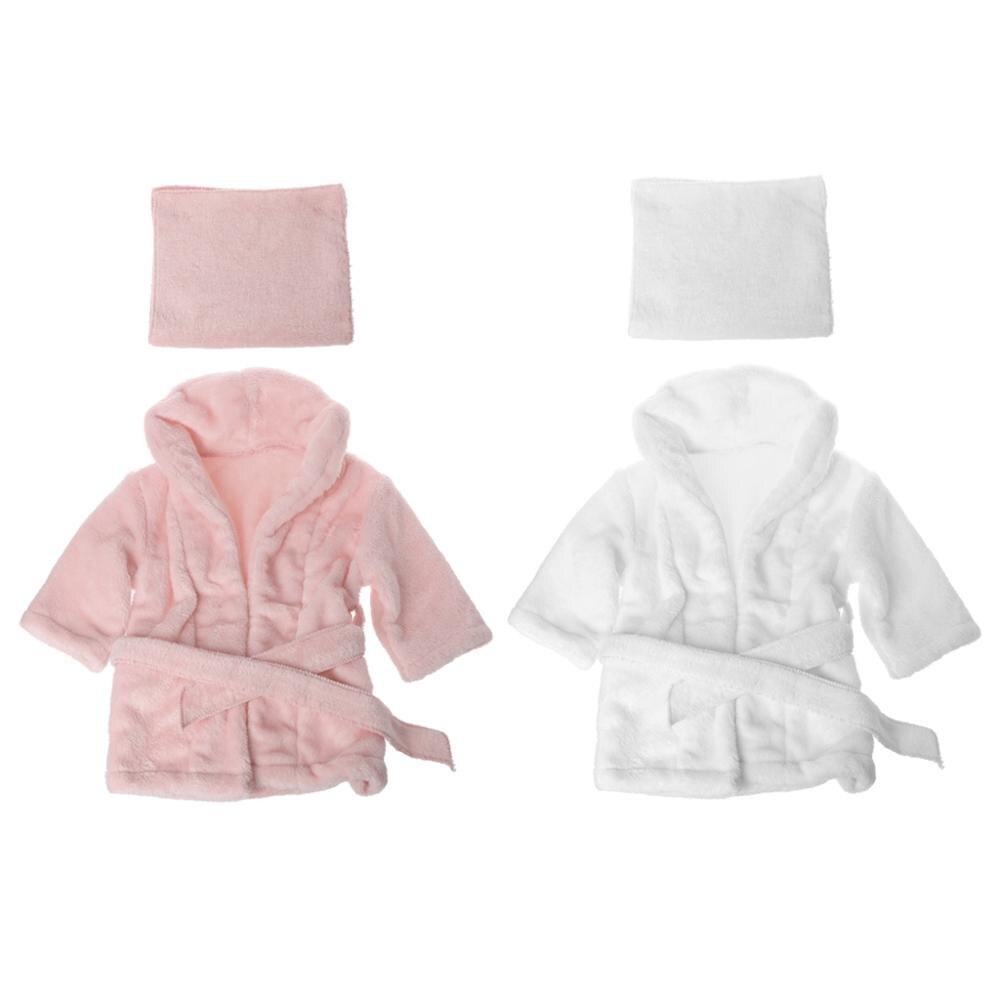 2 adet/takım bebek bornoz bebek havlu sargısı yenidoğan fotoğraf sahne bebek bez setleri fotoğraf çekimi aksesuarları