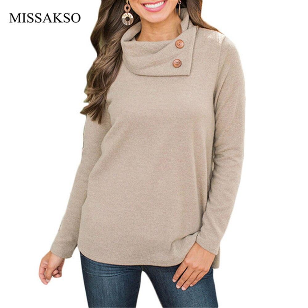 Turtleneck Women Pullover Fleece Casual Long Sleeve Solid Ladies Leisure Knitted Autumn Winter Ladies Tops Plus Size Sweatshirt