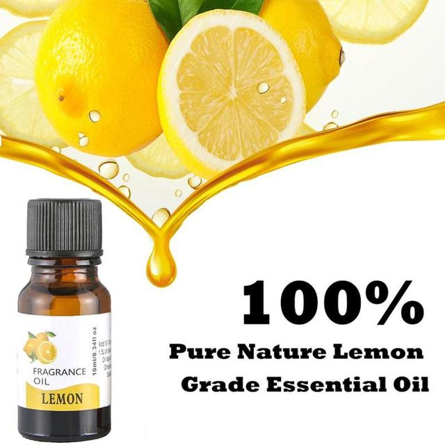 10ml Pure Natural Essential Oils Carrier Oil Aromatherapy Grade Healthy Rosemary Eucalyptus Relieve Body Fragrance Oil Diffuser 5