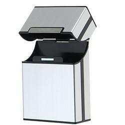 Étui à Cigarettes en aluminium 1PC | Conteneur de rangement pour fumer des Cigarettes, porte-cigare boîte de rangement boîte cadeau offre spéciale