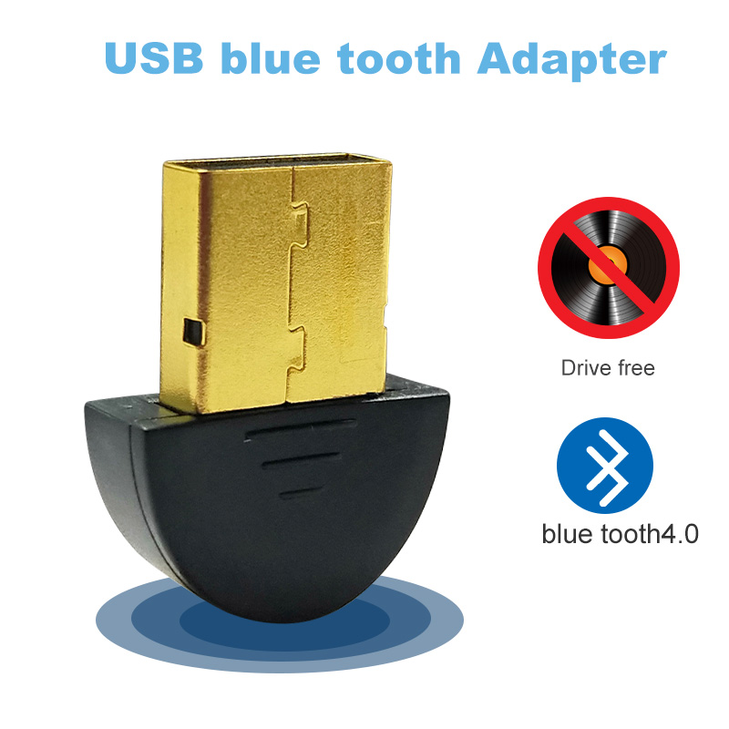 for bluetooth usb adapter dongle 4.0 computer pc headphones <font><b>tv</b></font> headphone speaker fone kebidu audio <font><b>carro</b></font> 3.5mm mouse receiver image
