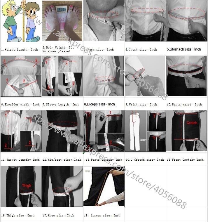 (Пиджак + жилет + брюки) свадебное платье жениха клетчатые официальные костюмы набор мужской модный бутик шерсть Повседневный деловой костю... - 3