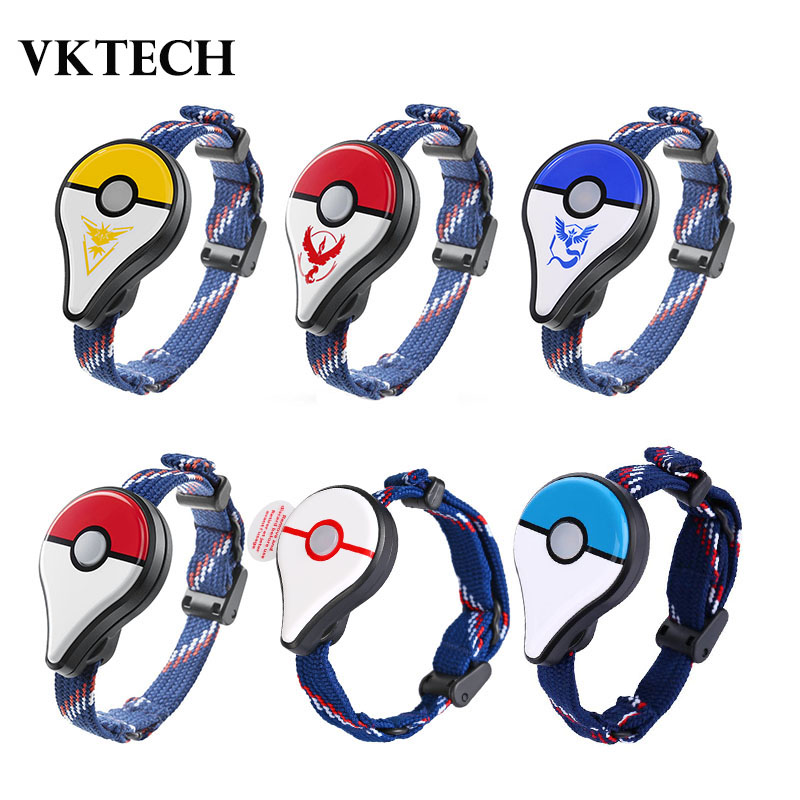 VKTECH Auto Catch For Pokemon GO Plus Bluetooth Wristband Bracelet Interactive Figure Toys For Nintend Switch Pokemon Go Plus