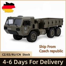Fayee – camion militaire RC 1/12G 6WD, 20 km/h, télécommande, modèle RTR, véhicule de plein air, jouet pour garçon, 2.4