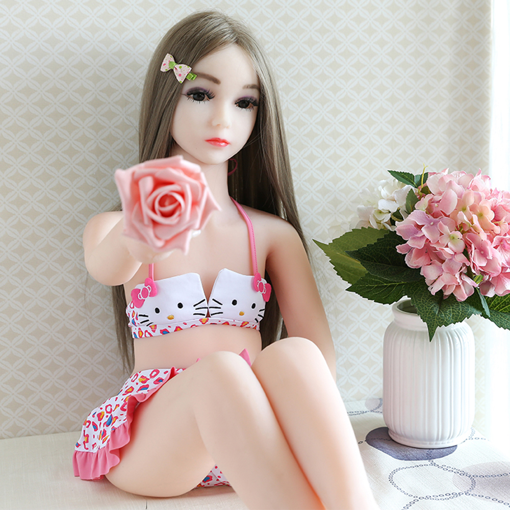 RBSX050 <font><b>100</b></font>% Full Silicone Solid <font><b>Sex</b></font> <font><b>doll</b></font> Flat Chest Plush Mermaid Female <font><b>doll</b></font> Worldwide Supply Perfect Love <font><b>doll</b></font> image
