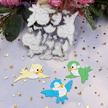 Cute Little Bird Metal Cutting Dies 2021 New Stencils for DIY Scrapbooking/Photo Album Decorative Embossing DIY Paper Cards