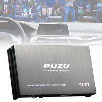 8 Bands Car Digital Audio Processor DSP Amplifier with Bluetooth WIFI Functions Support Computer Phone EQ High Precision Tuning