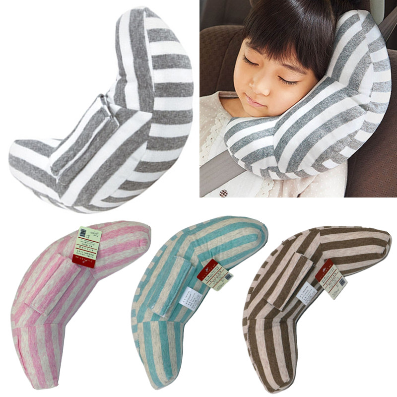 Kids Car Safety Seat Belt Pillow Child Carseat Strap Cushion Pad Protector Baby Soft Headrest Neck Shoulder Head Support