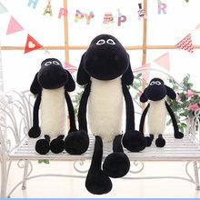 40-120cm novo dos desenhos animados ovelhas anime filme de pelúcia brinquedo de ovelha boneca kawaii brinquedo de pelúcia menina e menino companheiro de dormir crianças presente de aniversário
