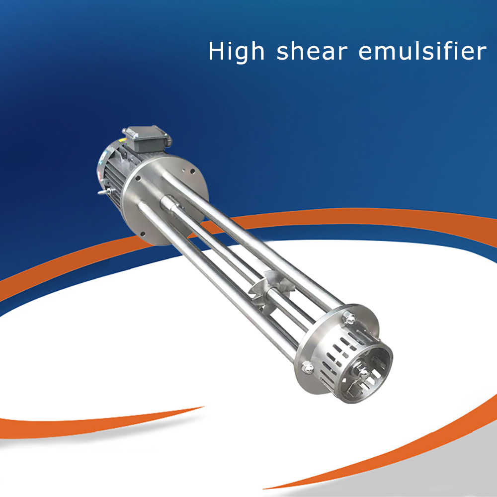 WRL-120 4KW 380V высоким сдвиговым усилием эмульгатор с высоким уровнем Скорость однородная, превращающий в эмульсию головка прерывистый высокой Скорость ножницы для резки листового металла