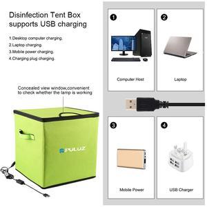 Image 3 - PULUZ UV Light Germicidal Sterilizer Disinfection Tent Box for Mobile Phone Tablet Sterilizer Storage Box