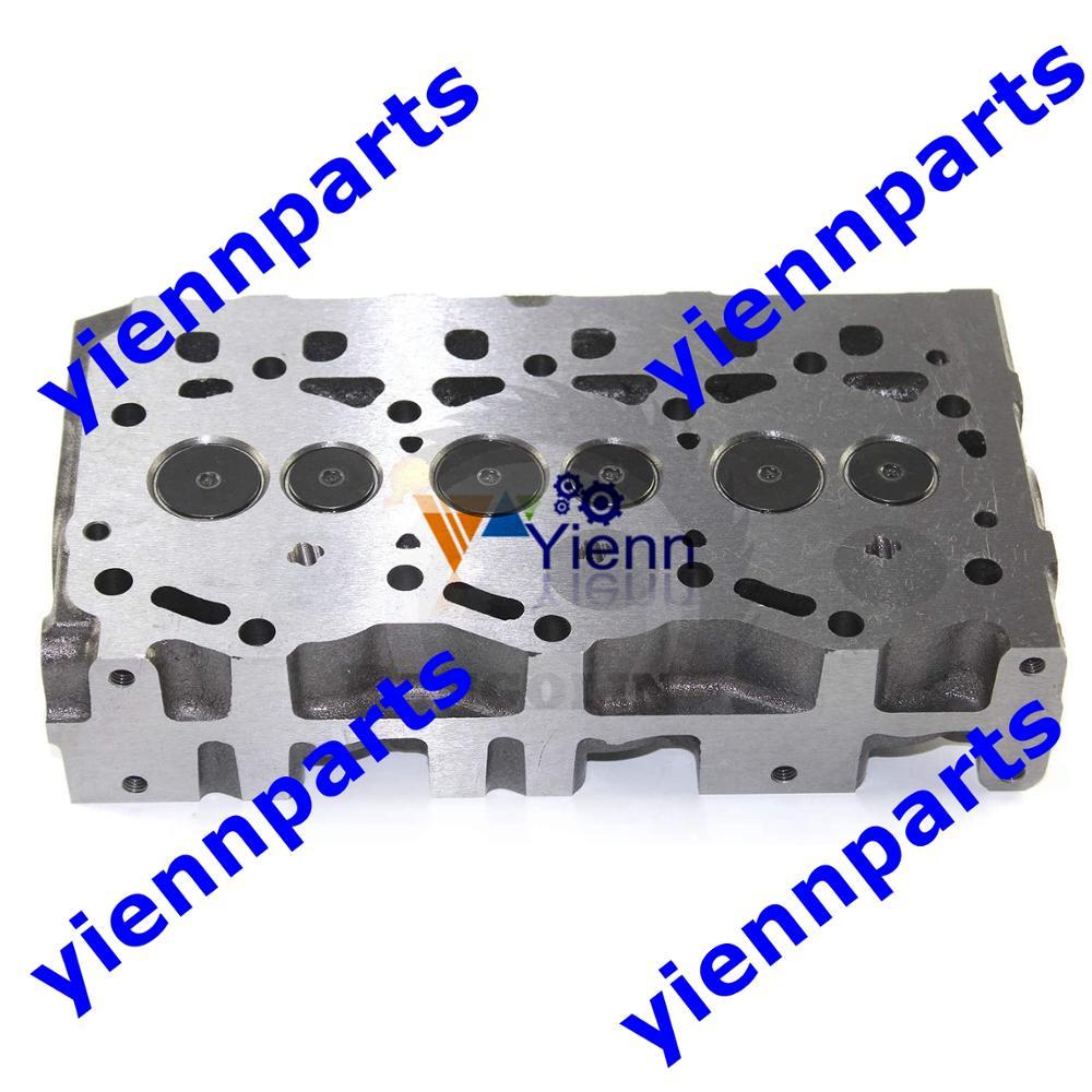 100% nuovo Per Yanmar 3TNV70 Testa del Cilindro Assy 119515-11750 Parti di Misura Per 3TNV70-ASA 3TNV70-HGE Motore Parti di Riparazione