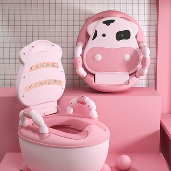 Portable Baby Potty Multifunction Baby Toilet Car Potty Child Pot Training Girls Boy Potty Kids Chair Toilet Seat Children's Pot 1